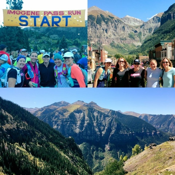 Stunning views and a fabulous group of ladies to race up mountains with!